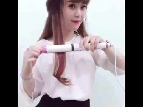 Hướng dẫn su dung Máy uốn tóc Sonar 3 in 1 - Trang Pink Shop - 350k- sdt : 09333.888.72