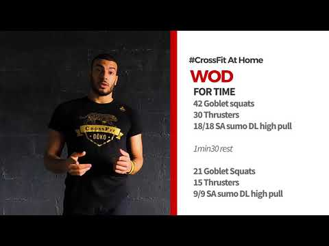 WOD CrossFit at Home with Dōko par CrossFit Dôko.