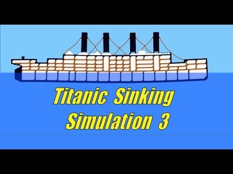 Titanic Sinking simulation 3, Ship Sinking Sandbox