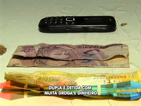 Dupla é detida com muita droga e dinheiro, no B.Bom Jesus
