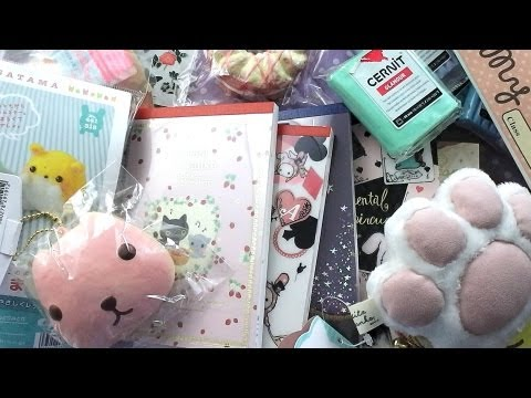Squishy Haul Blog : Package from Kawaii Land + Review Phim Video Clip