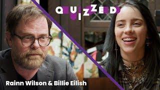 Billie Eilish Takes 'The Office' Quiz With Rainn Wilson | Billboard