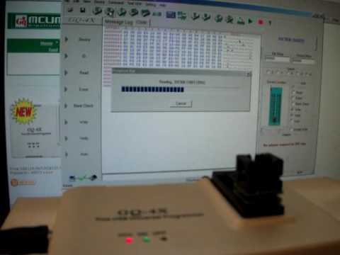 Using ADP-004 on GQ-4X programmer for EEPROM 93C56 mcumall