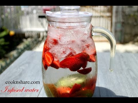 Strawberry Kiwi Infused (Detox) Water - Episode 2