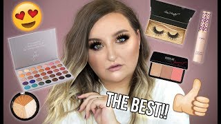 FULL FACE OF HOLY GRAIL MAKEUP | PRODUCTS I CAN'T LIVE WITHOUT - TUTORIAL