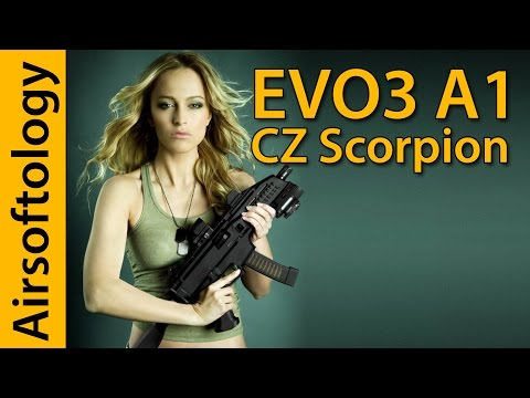 ASG CZ Scorpion Evo 3 A1 2018 Revision