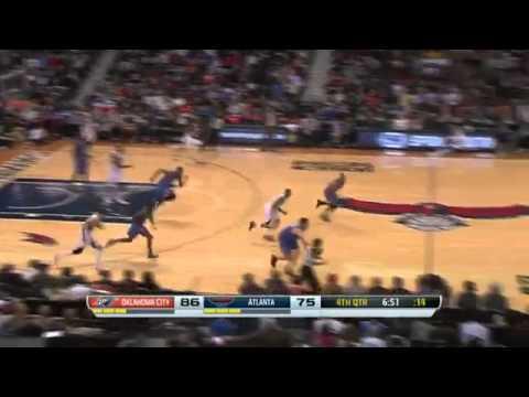 Oklahoma City Thunder vs Atlanta Hawks   December 10, 2013 2014