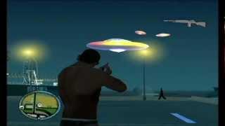 Como Poner OVNIs En El Cielo Del Gta San Andreas