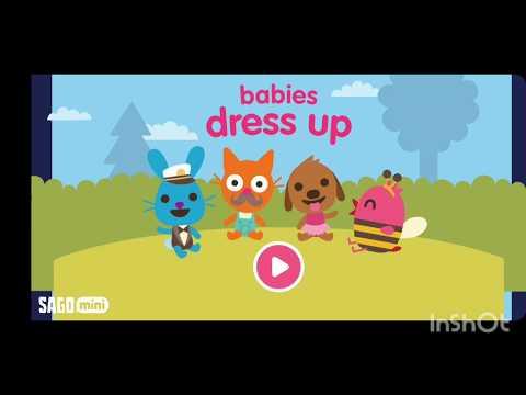 Sago Mini 🌟 Babies dress up🌟 travestimenti 🌟 giochi per bambini 🌟 Baby Game