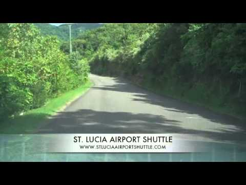 Airport Transfer Journey From Soufriere St. Lucia to Castries Airport - Vigie