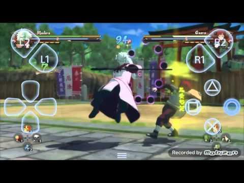 Naruto Shippuden Ultimate Ninja Storm 4 Gameplay Android