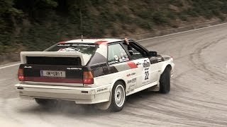 Audi Quattro Group B - 5-Cylinder Engine Sound