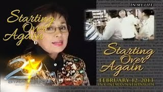 Starting Over Again (Vilma Santos on Direk Olive Lamasan)