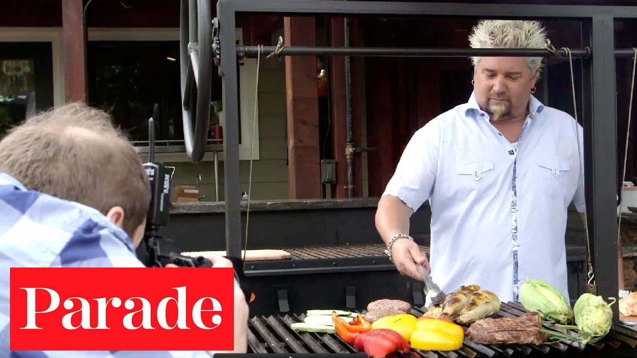 Guy Fieri Talks Grilling With Parade Magazine YouTube