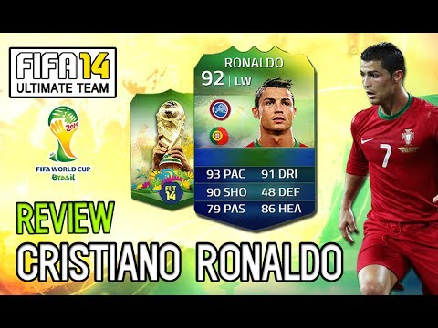 Cristiano Ronaldo - REVIEW / ANÁLISE - FIFA 14 Ultimate Team World Cup
