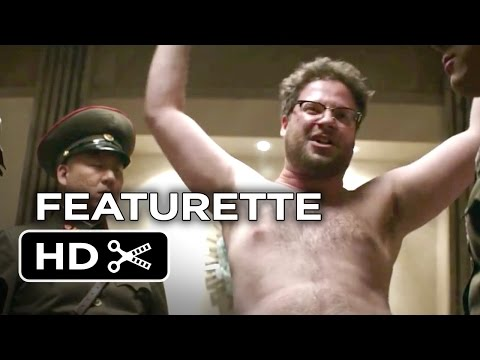 The Interview Featurette - Meet Aaron (2014) - Seth Rogan Comedy HD