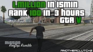 GTA 5 Online Fastest Way To Rank Up And Get