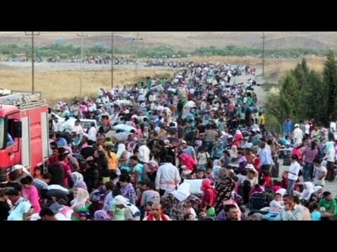 Number of Syrian refugees rises above 2 million
