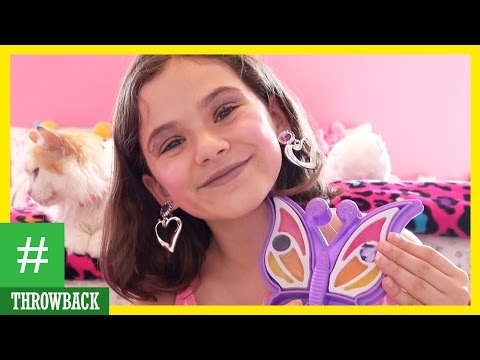 THROWBACK!! Tinker Bell Makeup Kit Review and Tutorial by Emma |  KITTIESMAMA