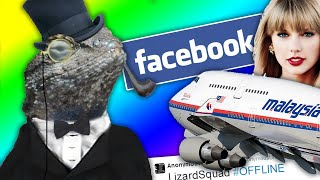LIZARD SQUAD Hack Malaysia Airlines, Facebook, Instagram