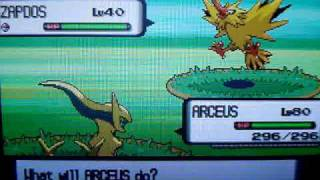 Catching Shiny Moltres Zapdos And Articuno Pokemon Diamond