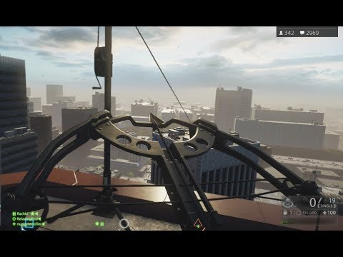BF Hardline GUNS, VEHICLES, ZIPLINE & BATON Gameplay PS4