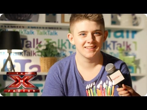 Happy birthday, Nicholas McDonald! - Backstage With TalkTalk - The X Factor UK 2013