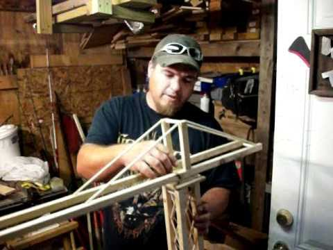 Wooden Tower Crane Youtube