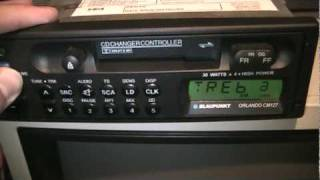 Blaupunkt Orlando CM127 Car Radio