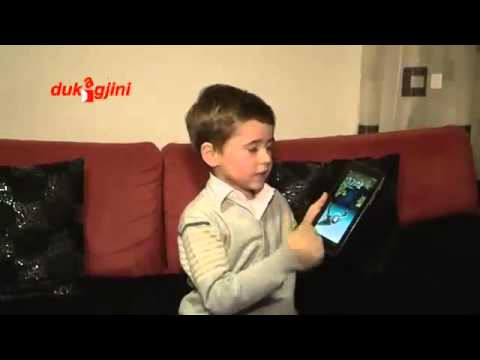 Very Smart Kid  (Genius).  Next  Steve Jobs,   describes iPhone, Samsung, iPad etc.