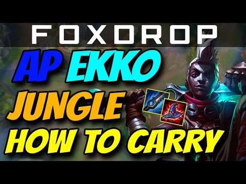 AP EKKO JUNGLE - How to Carry #26 - League of Legends Unranked to Diamond