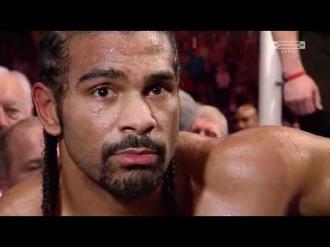 David Haye v Audley Harrison Post fight Interview (Haye)