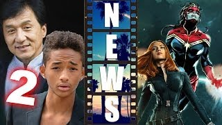 The Karate Kid 2 Jaden Smith & Jackie Chan, Black Widow