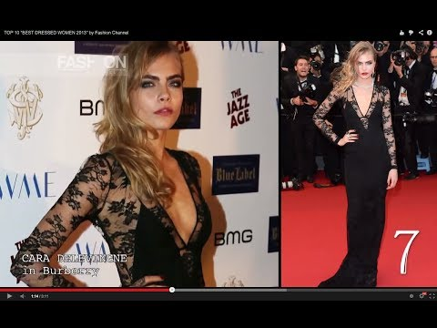 "TOP 10 ""BEST DRESSED WOMEN 2013"" by Fashion Channel"