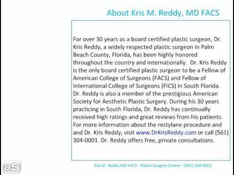 dr kris reddy reviews restylane in west palm beach, flo