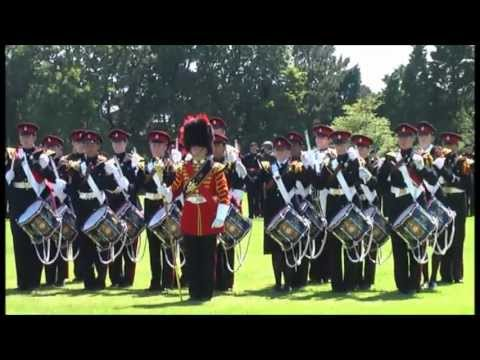 Duke of York's Royal Military School Corps of Drums Display Grand Day 2008