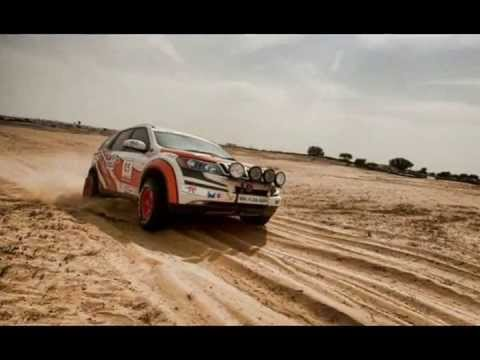 Super XUV500 stormed at the Desert Storm 2012
