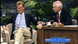 Johnny Carson Tows David Letterman's Beat-Up Old Pickup Truck to the Tonight Show Stage