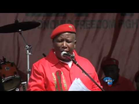 Julius Malema addresses the nation at the EFF's manifesto launch (Part6)