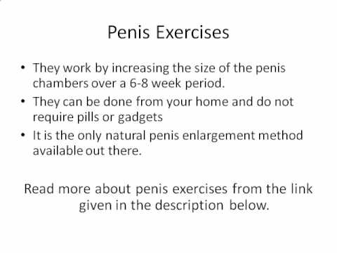 How to increase a small penis
