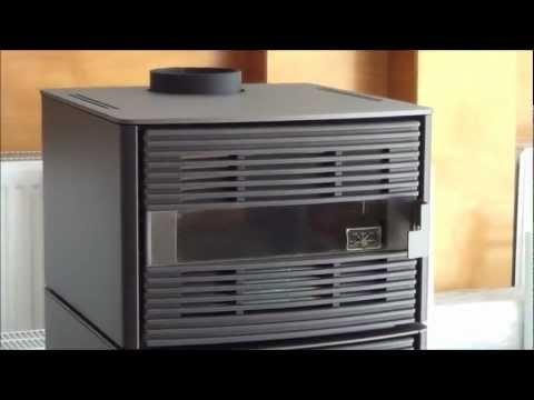 Σομπα ξυλου Edilkamin Jazz 7,2 kW με φουρνο