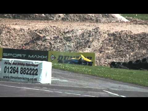 Chris Mealin Huge Crash @ 2014 Formula Ford Thruxton