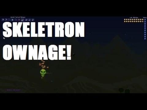 Terraria Boss: Skeletron - Ownage