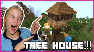 Awesome Treehouse in Minecraft!