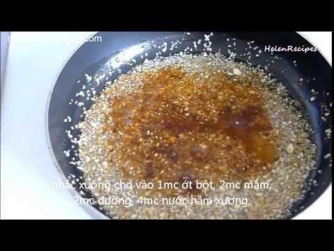 Hướng dẫn cách làm món Bún Bò Huế - Nhà Hàng Quá Ngon