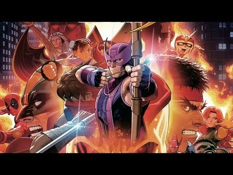 ULTIMATE MARVEL VS. CAPCOM 3 Extended CG Trailer