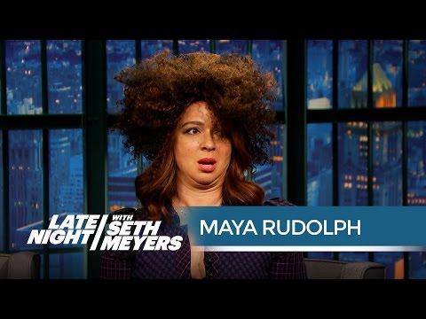 Maya Rudolph's Rachel Dolezal Impression - Late Night with Seth Meyers