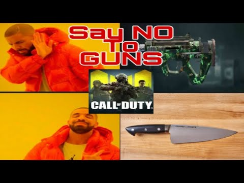 """Say """"NO"""" to Guns KNIFE ONLY CHALLENGE 