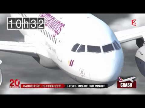 """بتقنية """"الثري دي"""" هكذا سقطت الطائرة الالمانية في جبال الالب بفرنسا"""