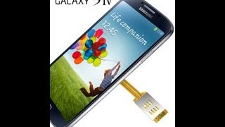 Samsung Galaxy S4 Dual SIM Adapter Android For Samsung